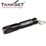 Mini flat pocket flashlight