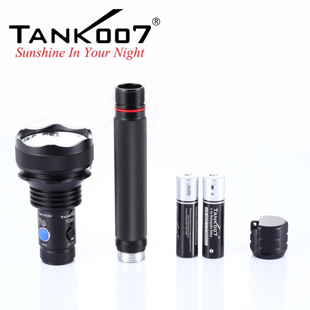 TANK007 TC60 rechargebable flashlight (6)
