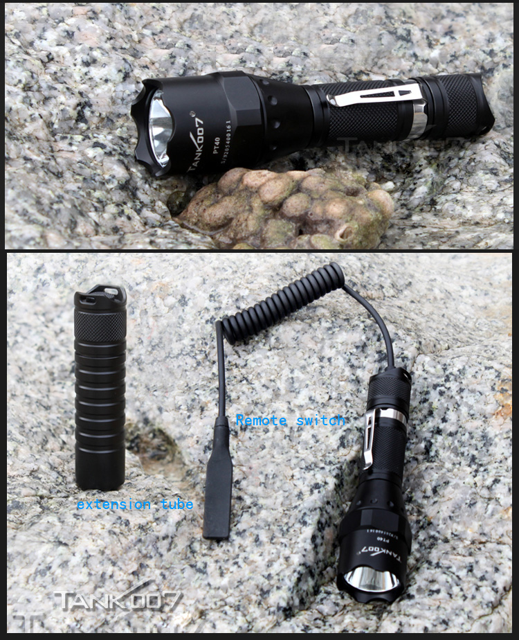 TANK07 PT40 tactical flashlight (4)