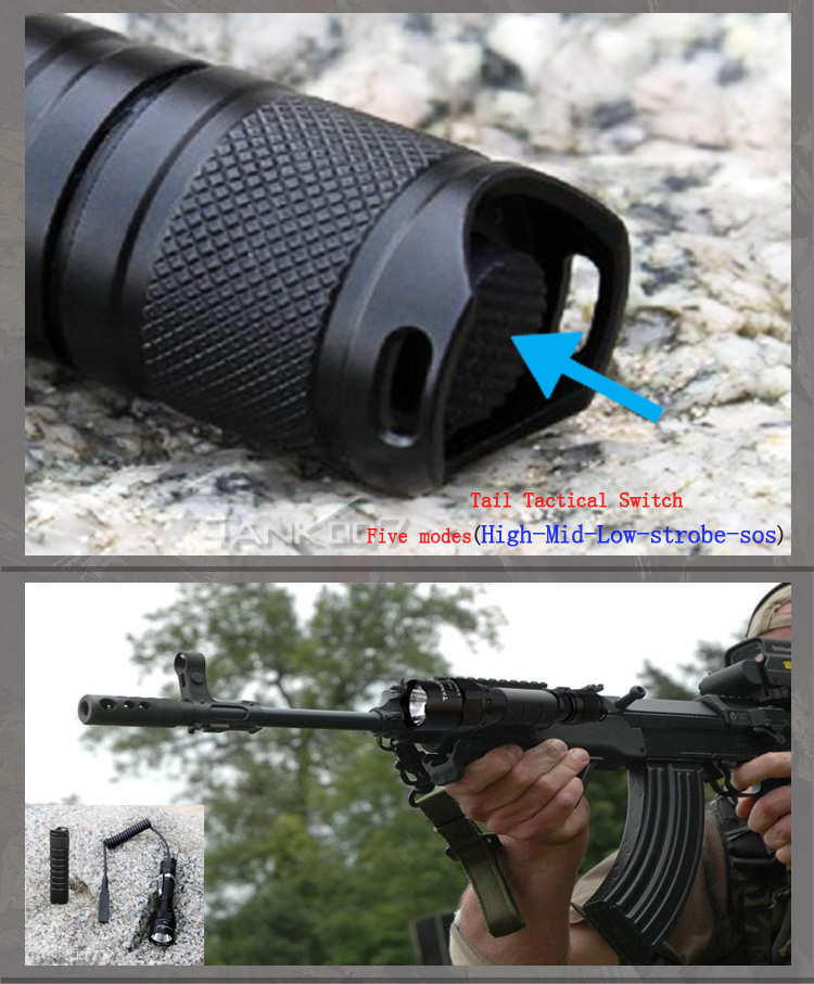 TANK07 PT40 tactical flashlight (7)