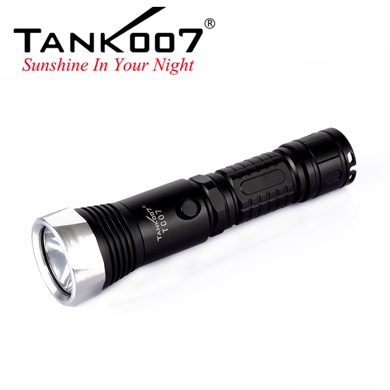 TC07 Tank007 rechargeable flashlight