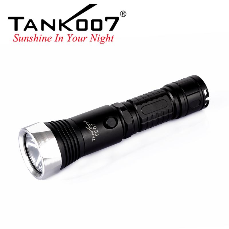 TC07 Tank007 rechargeable flashlight