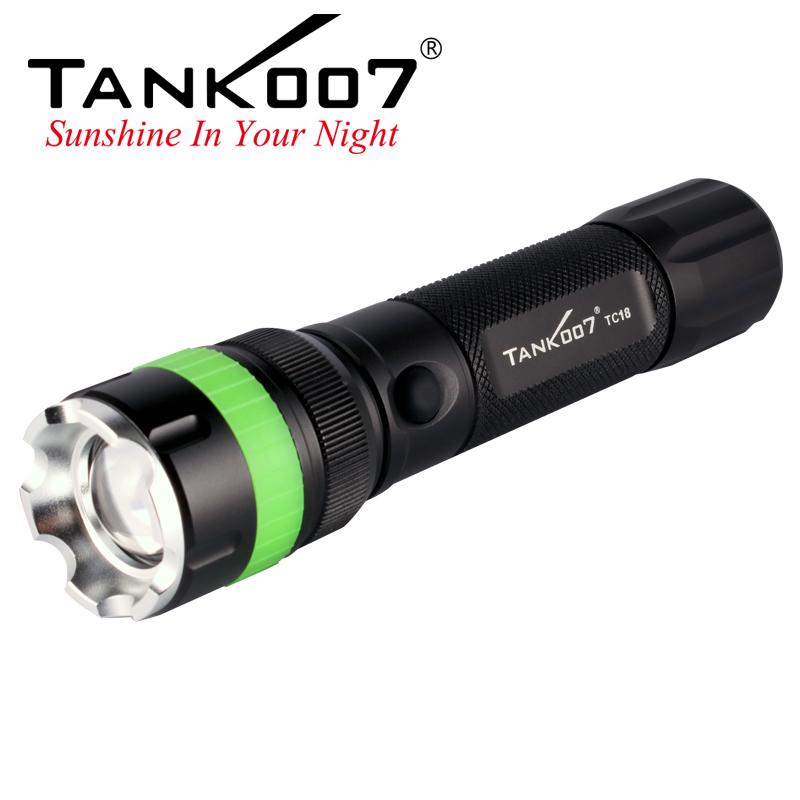 TC18 Tank007 rechargeable flashlight