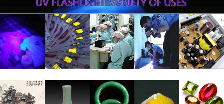Uses of Tank007 Ultraviolet FlashLight
