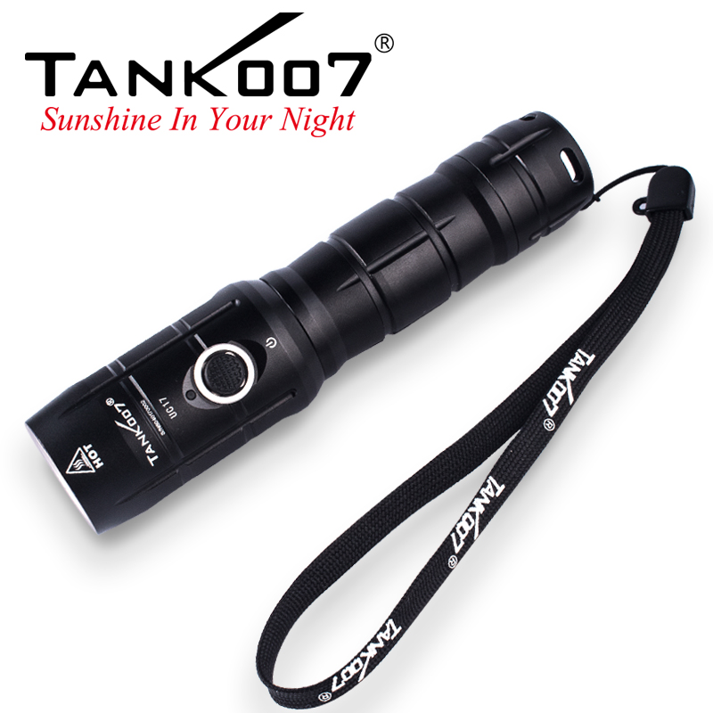 UC17 Tank007 rechargeable flashlight
