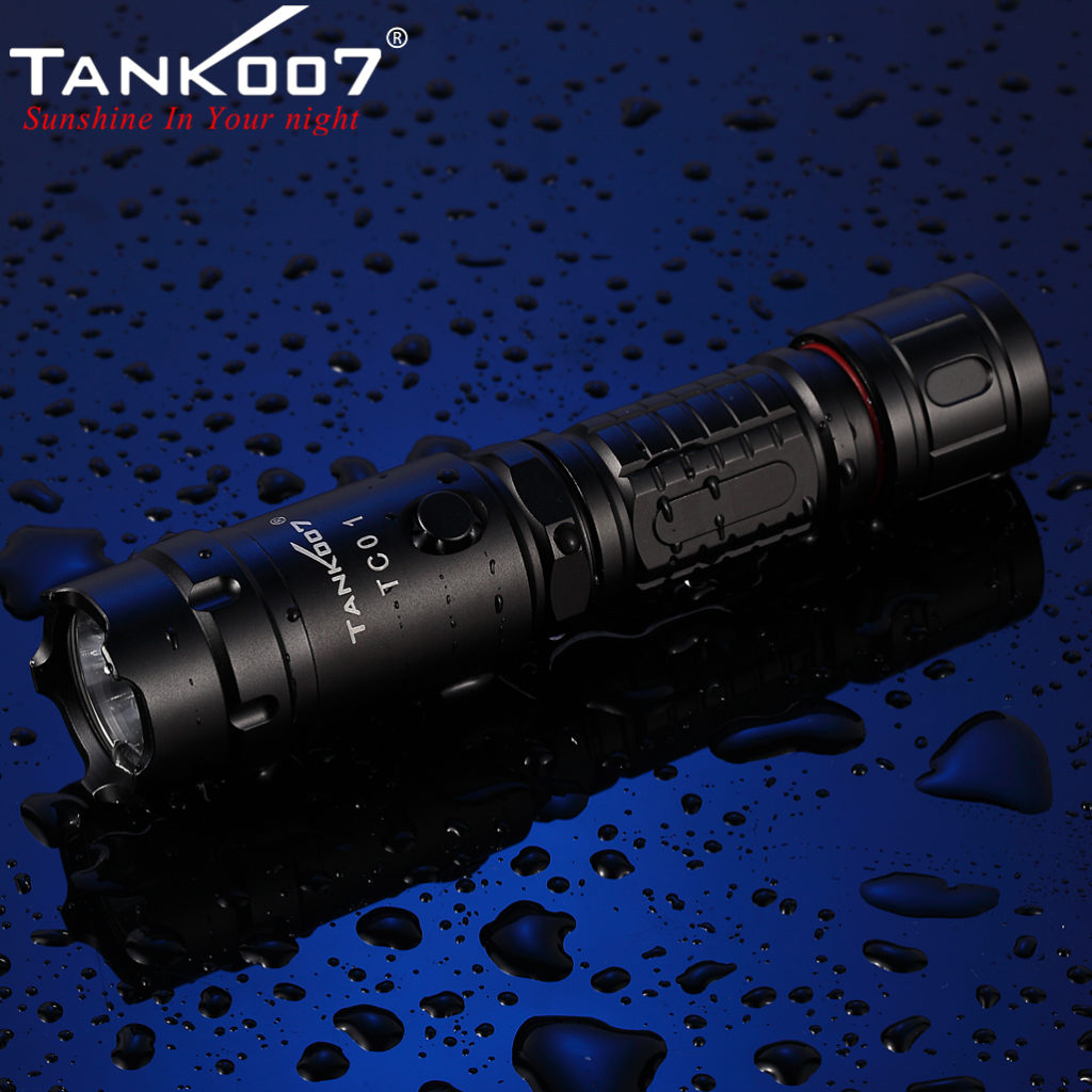 TC01 Tactical Flashlight CREE XM-L U2 Max 800 Lumen (12)