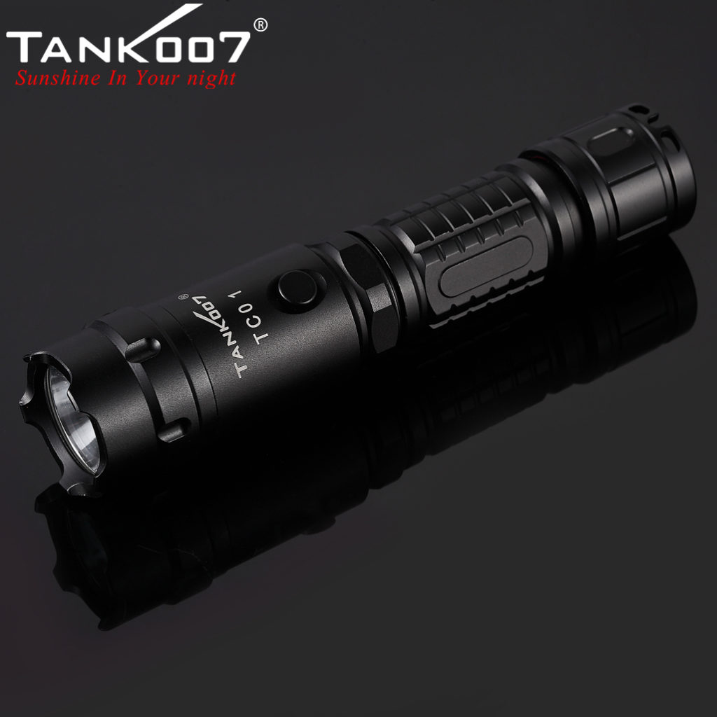 TC01 Tactical Flashlight CREE XM-L U2 Max 800 Lumen (13)