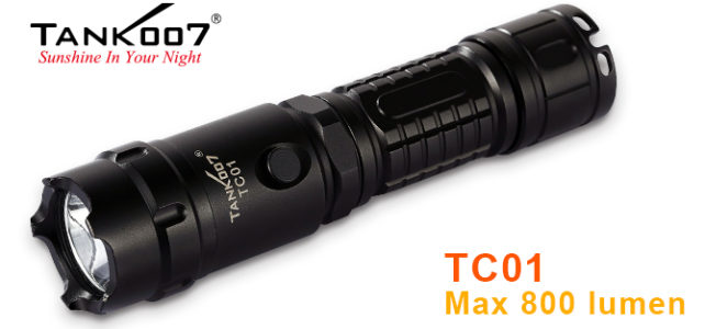 tank007 tc01 tactical flashlight