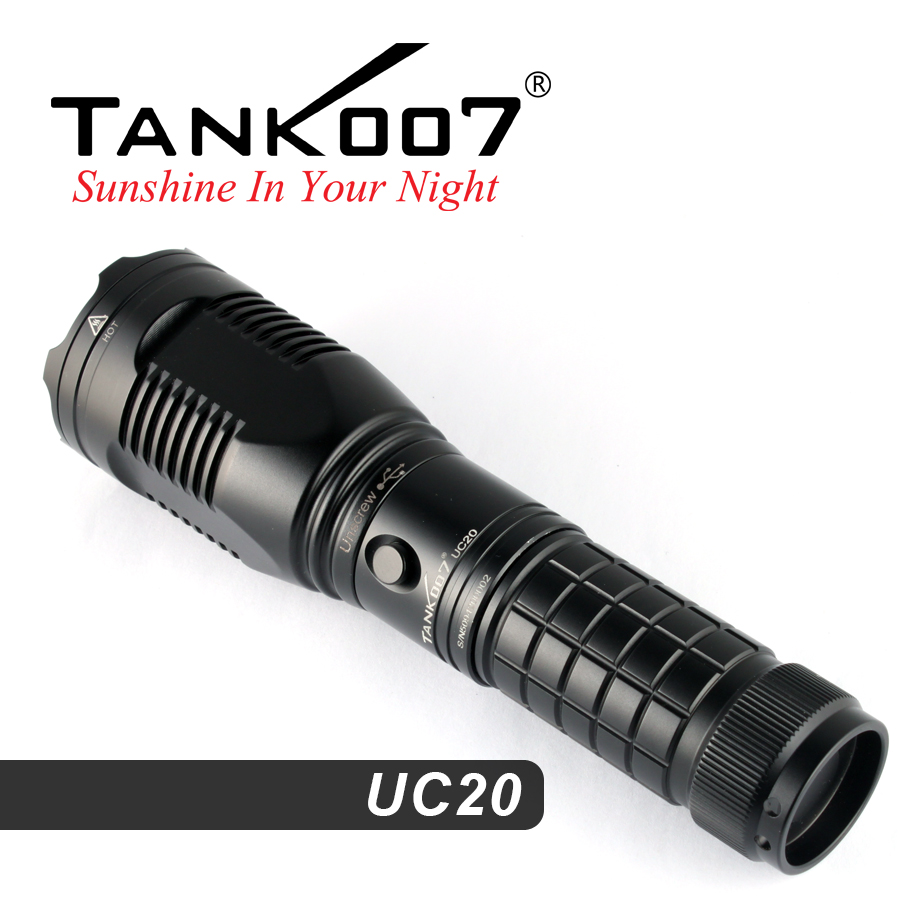 Why Choose Tank007 Rechargeable Tactical Flashlight