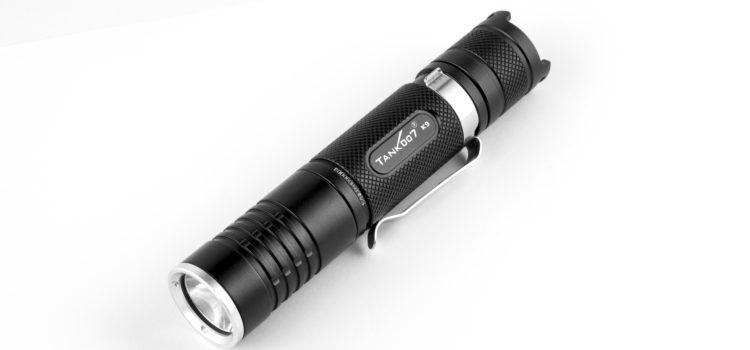 TANK007 Popular Small Torch Light Flashlight