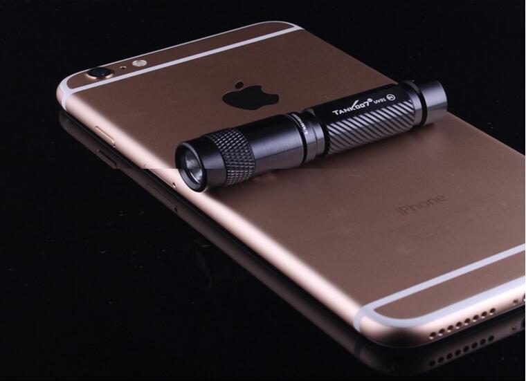365nm Small Black Light Flashlight Mini Uv Torch Uv01